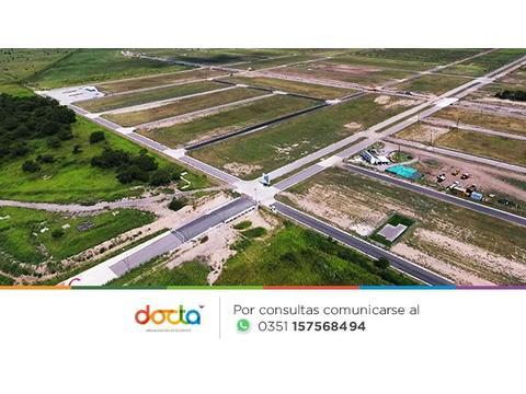 Terrenos en Docta - Todos los Servicios