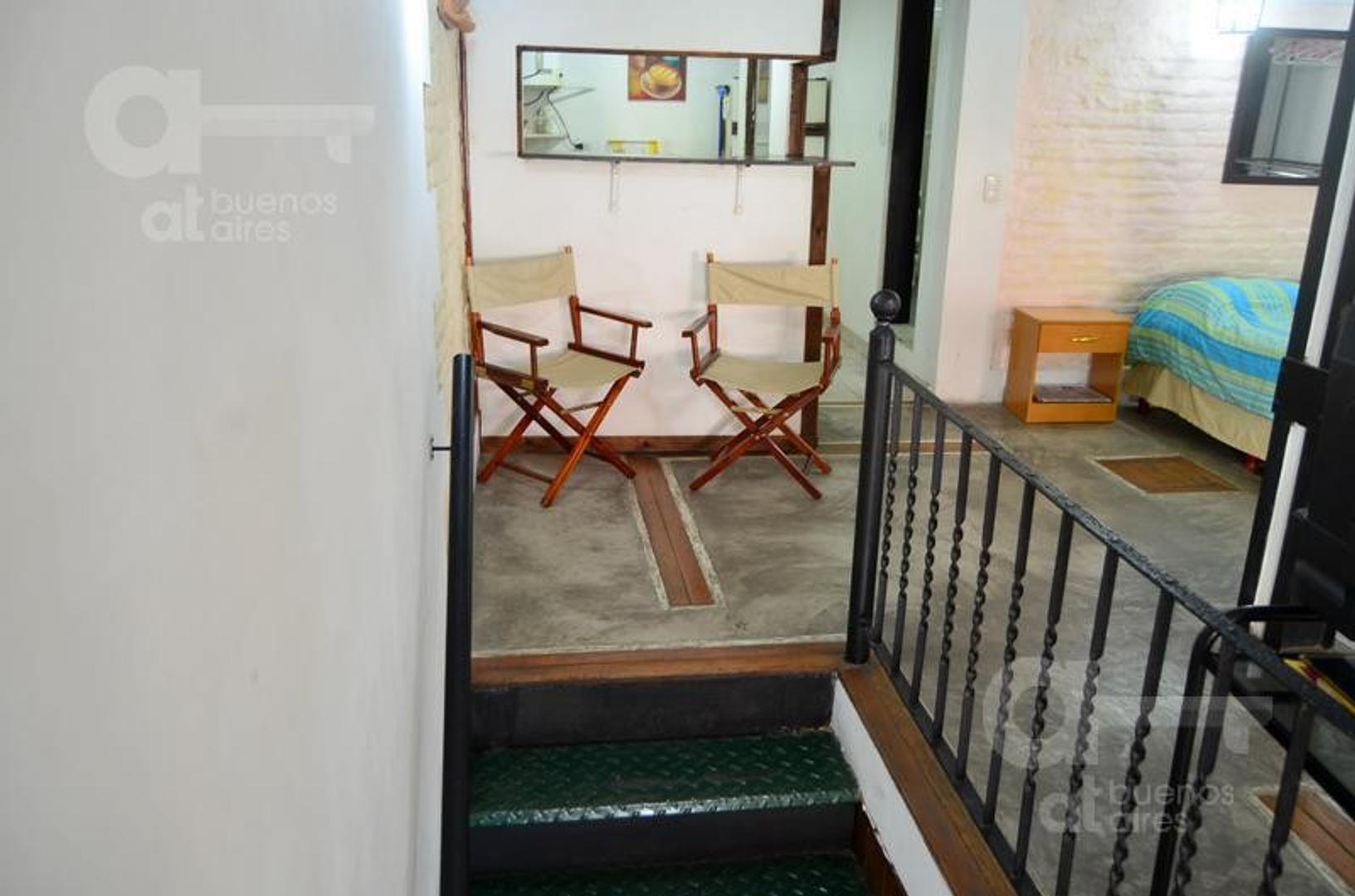 San Telmo, Departamento 1 Ambiente tipo Loft, Alquiler Temporario Sin Garantía!