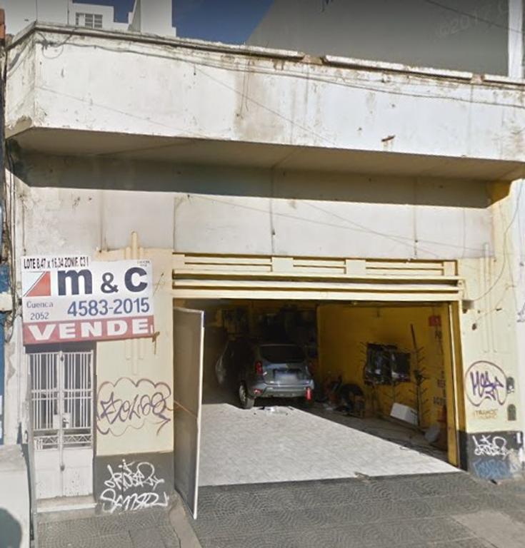 LOTE EN VENTA EN VILLA CRESPO CENTRO COMERCIAL WARNES y JUAN B. JUSTO