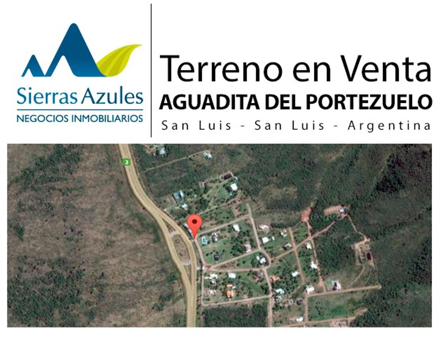 Terreno en venta en Villa la Aguadita del Portezuelo en San Luis. Argentina