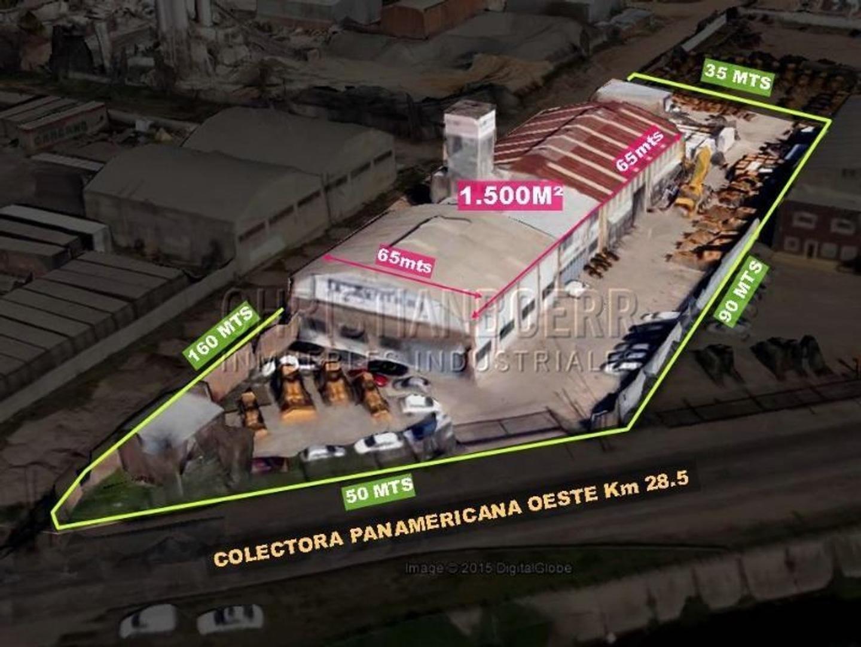 1500M cub s/Panamericana. Imagen comercial.1.800m de Playa de maniobras. Ideal para Venta, showroom