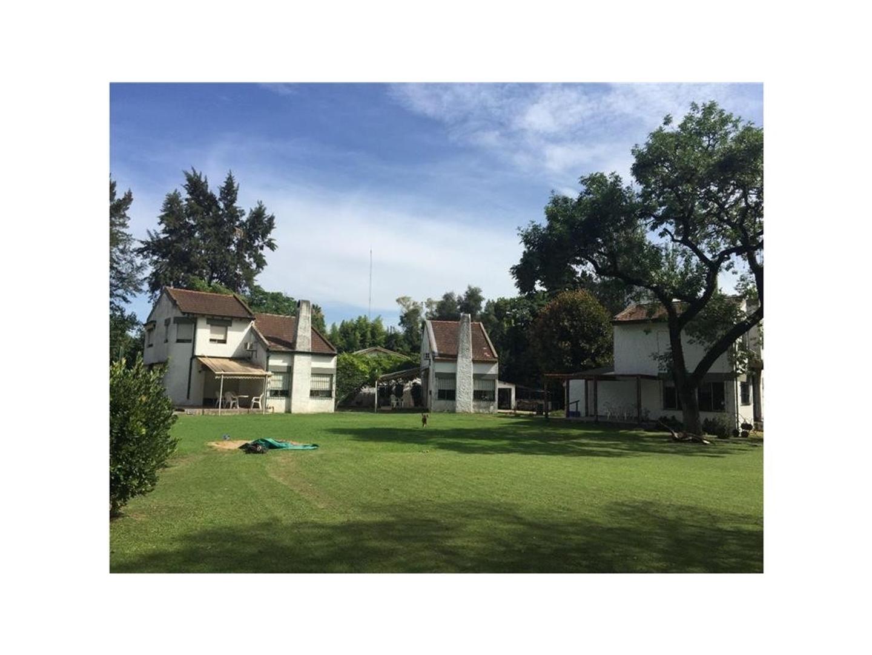 gran quinta en tortuguitas con 3 casas y casa de caseros, 5000 m2 de terreno, impecable