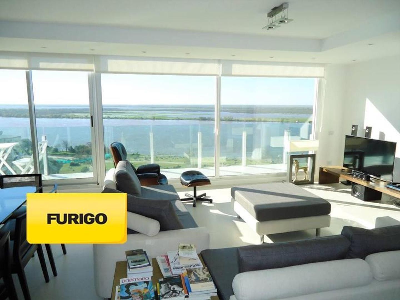 Parque España. Duplex. Vista Rio. Doble cochera.