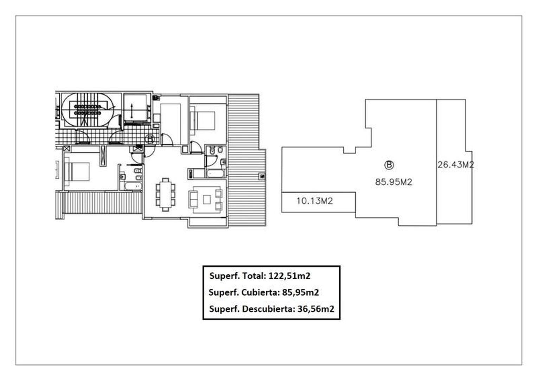 Hermoso tres ambientes amplio en la mejor zona de Caballito, piso 18! con cochera - Foto 21