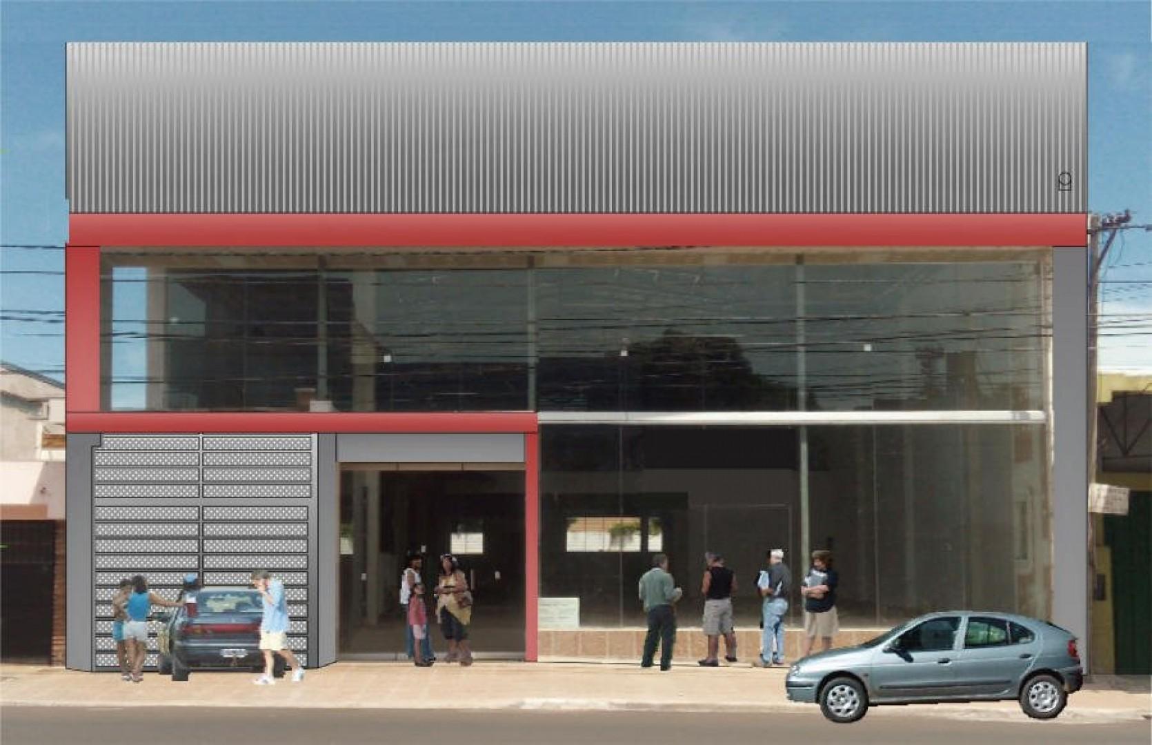 Imponente Local a Estrenar Sobre Av. Uruguay 3486