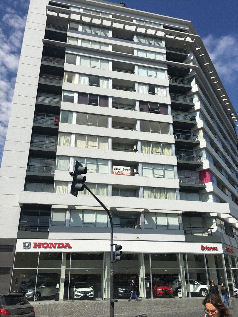 Excelente monoambiente con balcón terraza en Edificio Facultad VII. Frente, apto profesional