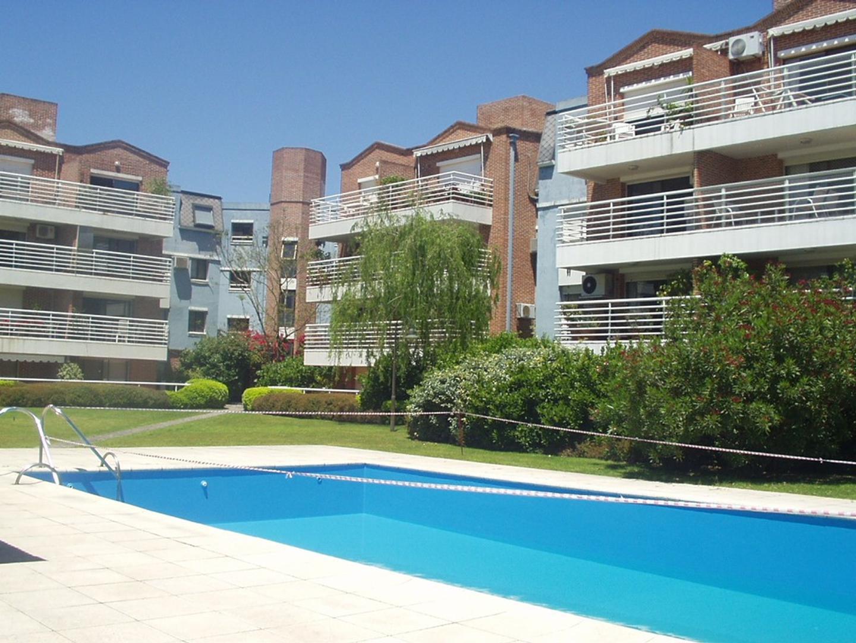 Departamento en Casas Del Puerto (San Isidro) con 3 habitaciones