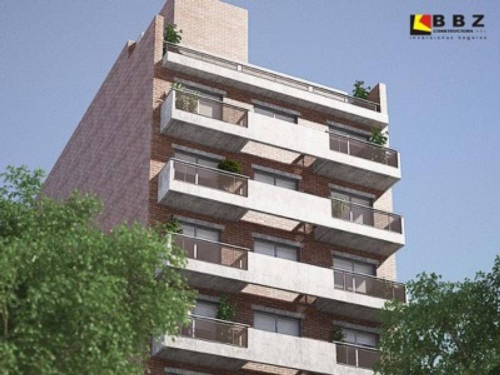 Venta 1 dormitorio en construcción - Financiación - Balcarce 1400 Rosario