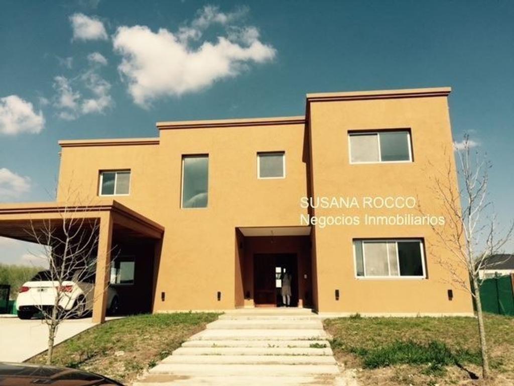 Casa a estrenar en Las Liebres SUSANA ROCCO Negocios Inmobiliarios