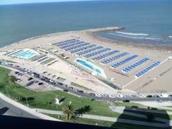Verano 2018   2 amb. con vista plena al mar,  PLAYA VARESE   Edificio Maral 39, para 3 PAX