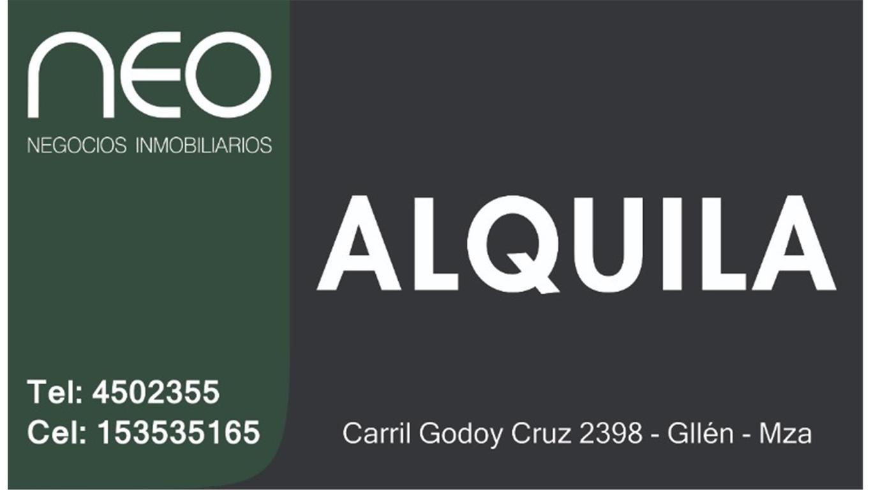 ALQUILER DE  CASA EN GUAYMALLEN