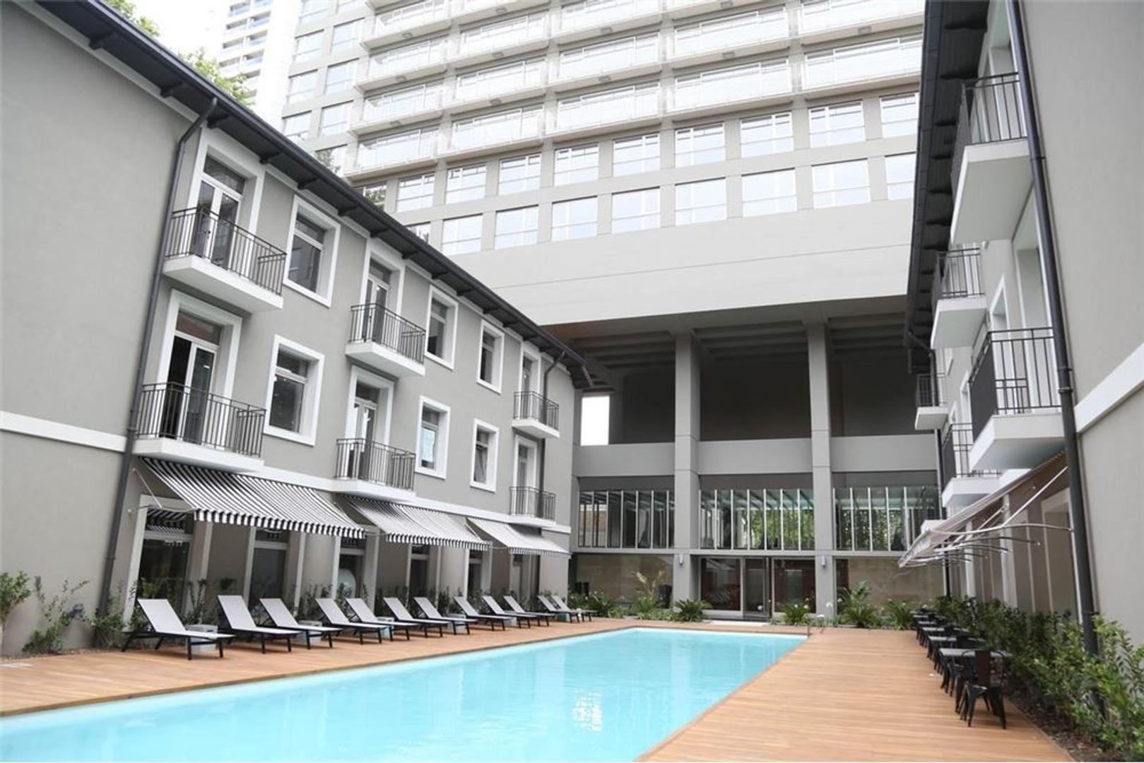1 amb 45 m² Torre Quartier Urbano c/cochera