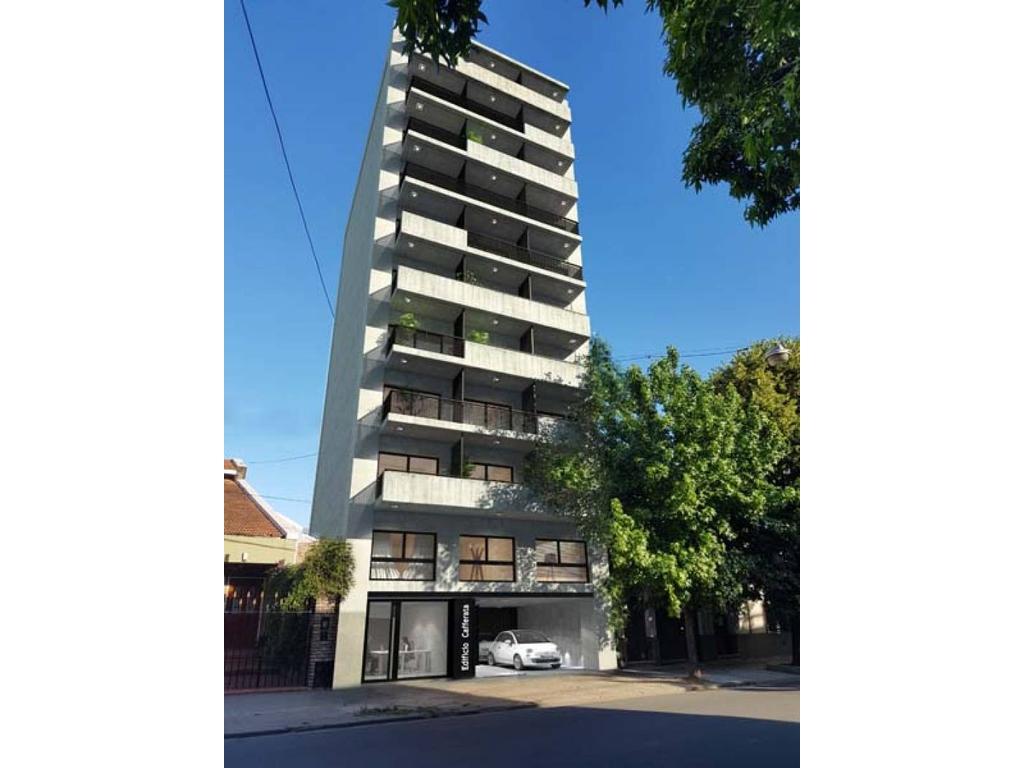 Venta 1 dormitorio en construcción - Edificio Bidens Cafferata 1500