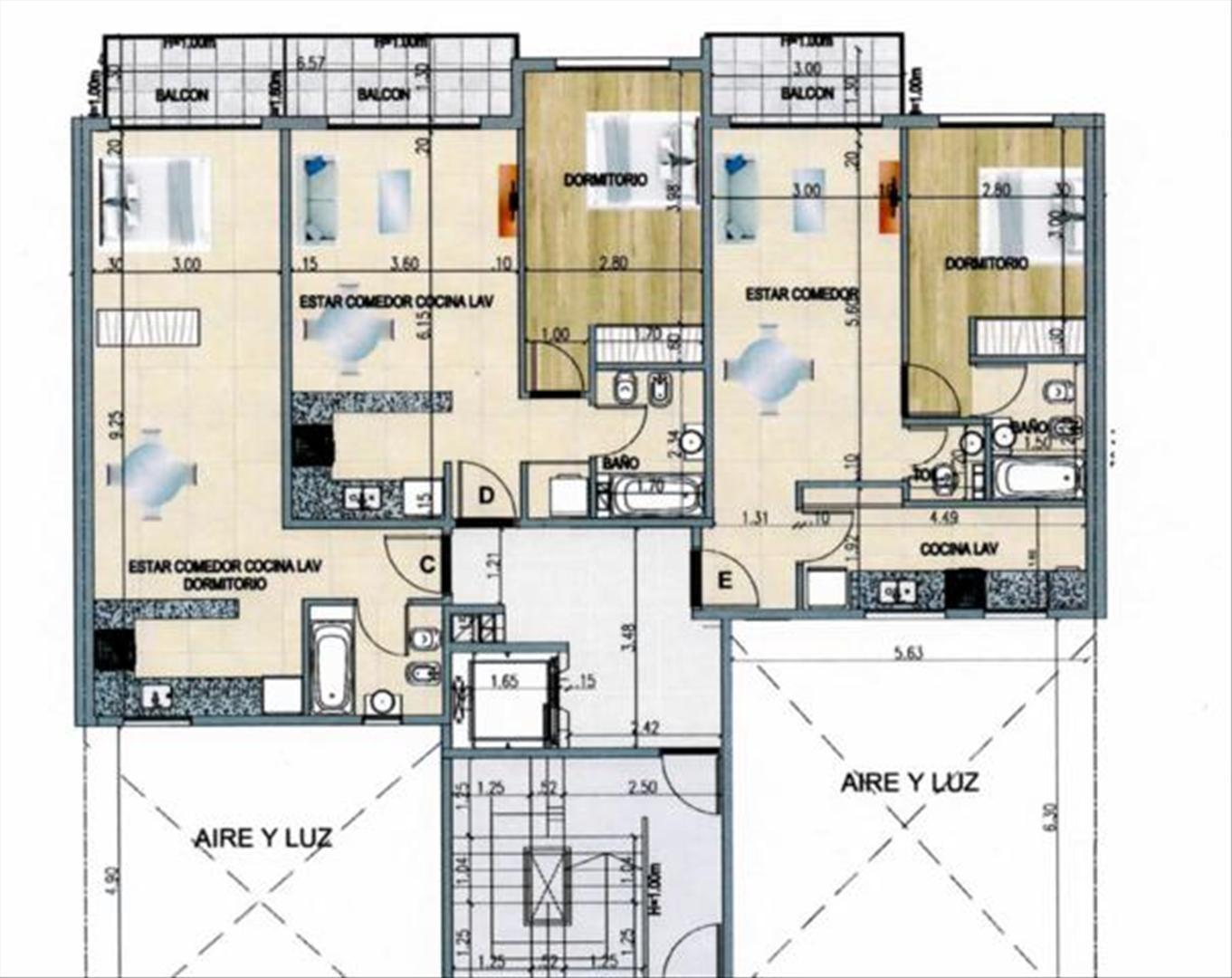 Departamento en Venta de 53,0 m2