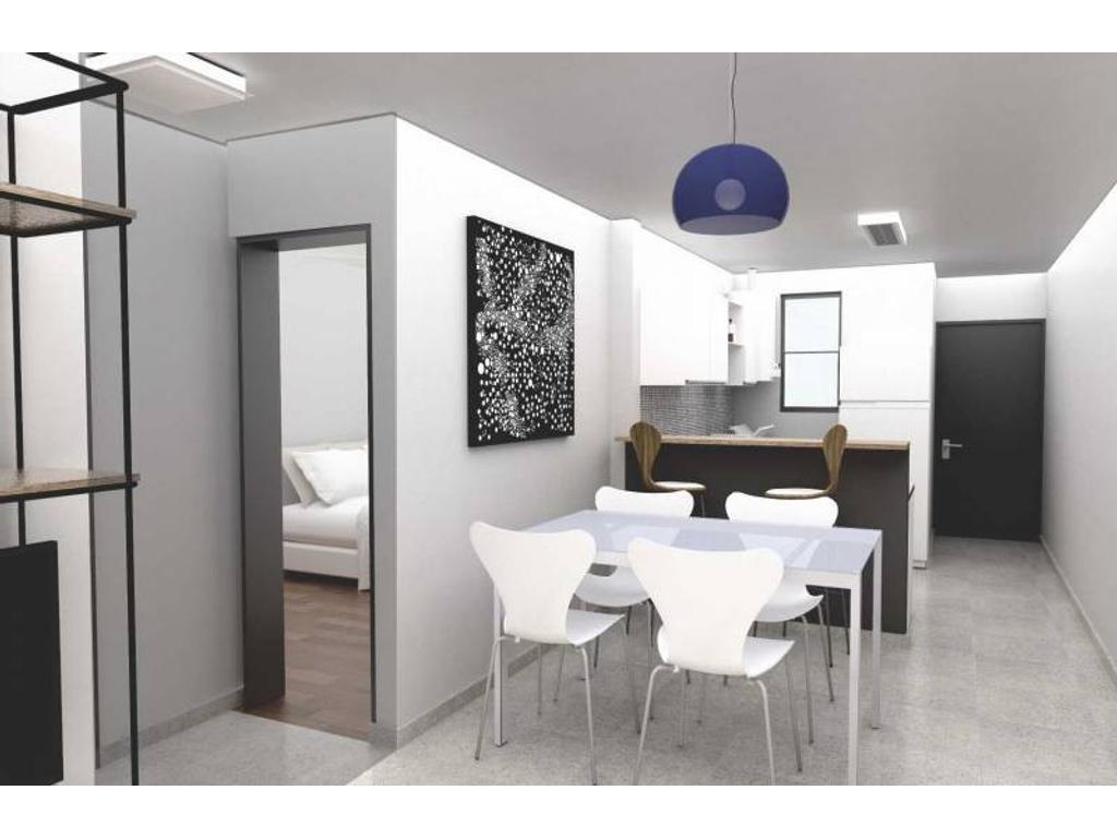 2 Dormitorios con Patio en Pichincha