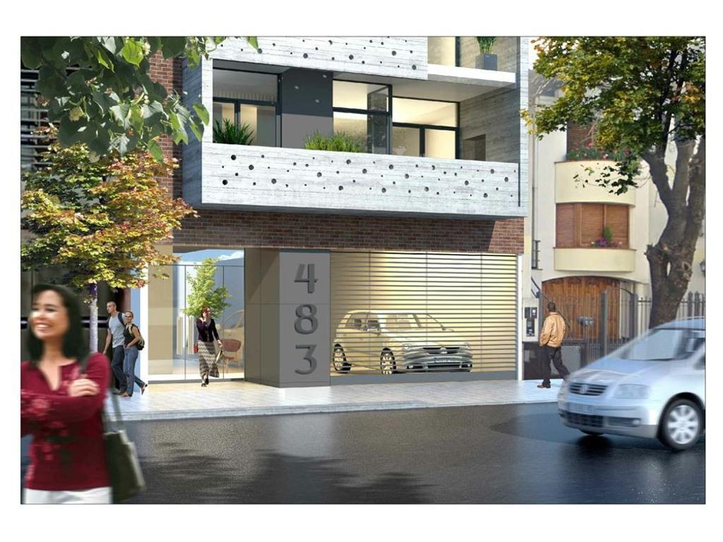 Monoambiente c/ balcón. Amenities. Ideal Inversión