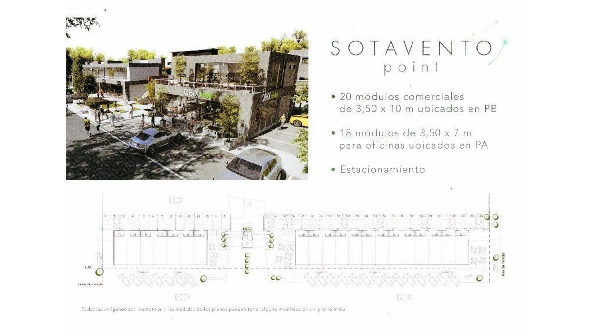 SOTAVENTO CANNING CONDO PREMIUM - HERMOSOS APARTAMENTOS DE 1,  2, 3 Y 4 AMB + LOCALES + OFICINAS