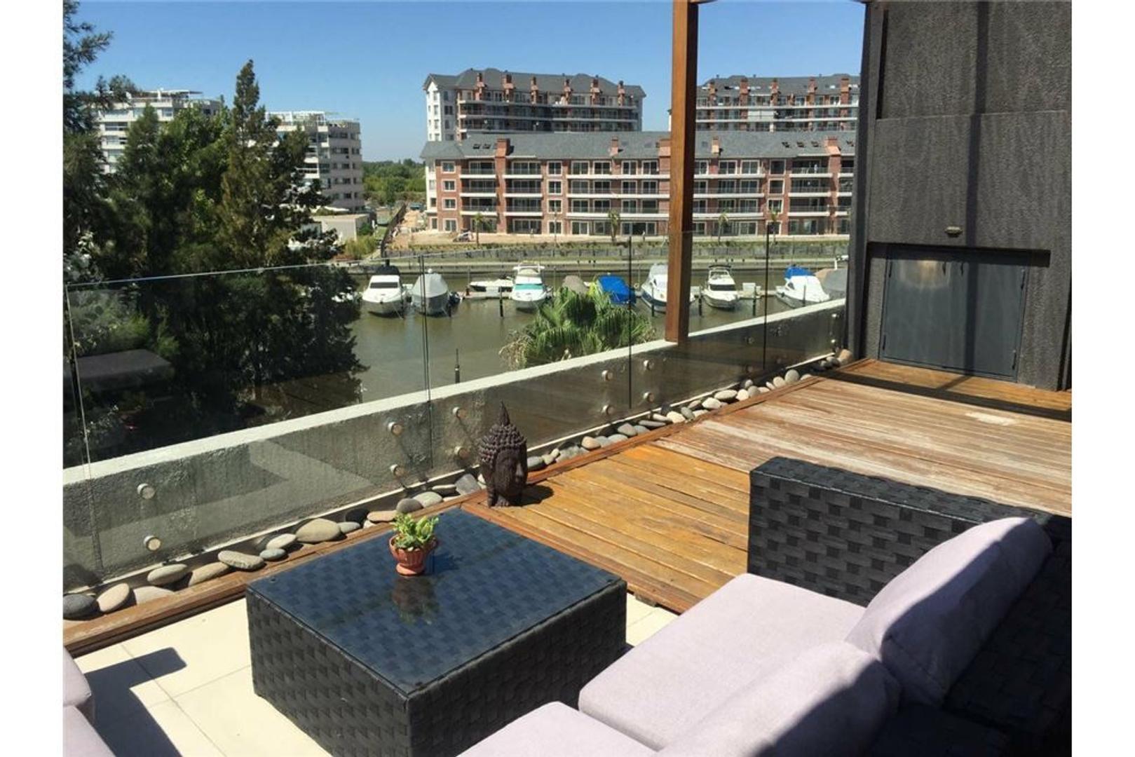 VISTA BAHÍA 3 ambientes gran terraza 2 cocheras