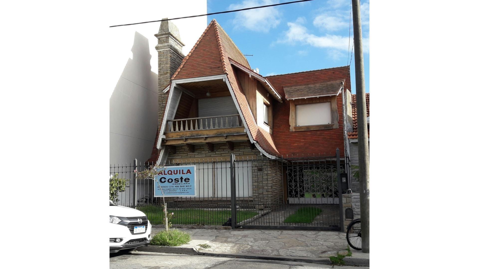 Casa en Alquiler en Zona Guemes - 5 ambientes