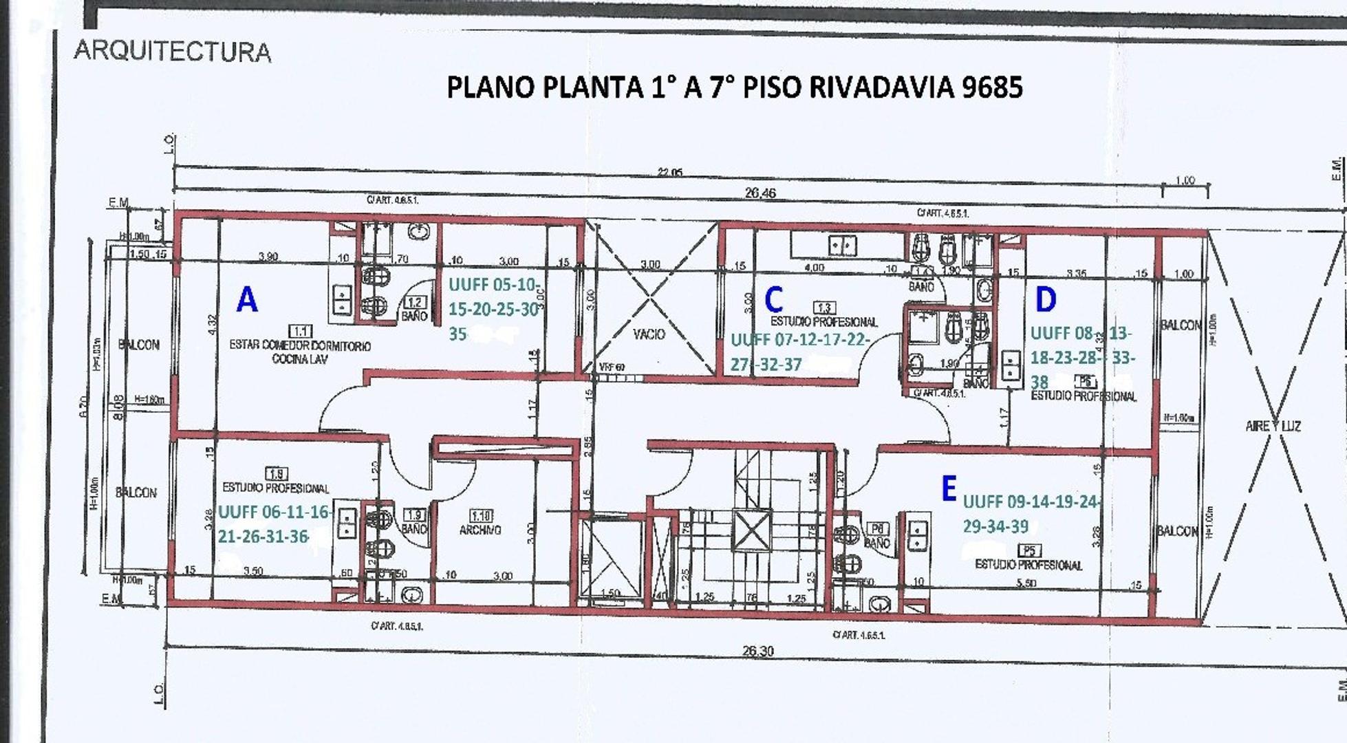 XINTEL(NIR-NIR-945) Departamento - Venta - Argentina, Capital Federal - AV RIVADAVIA  AL 9600