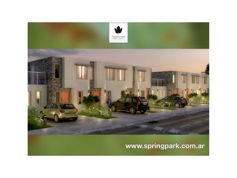 SpringPark Barrio Cerrado - Casas 3 y 4 Ambientes en la mejor zona de Pilar!