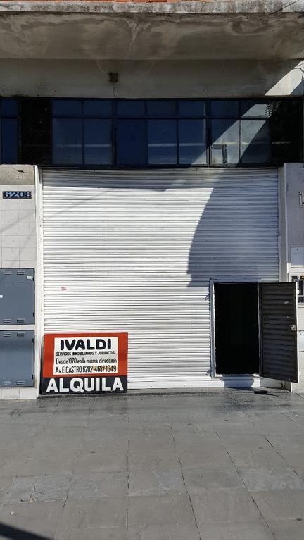 Av Gdor E Castro 6200 Hermoso Local 112 m2  2 baños