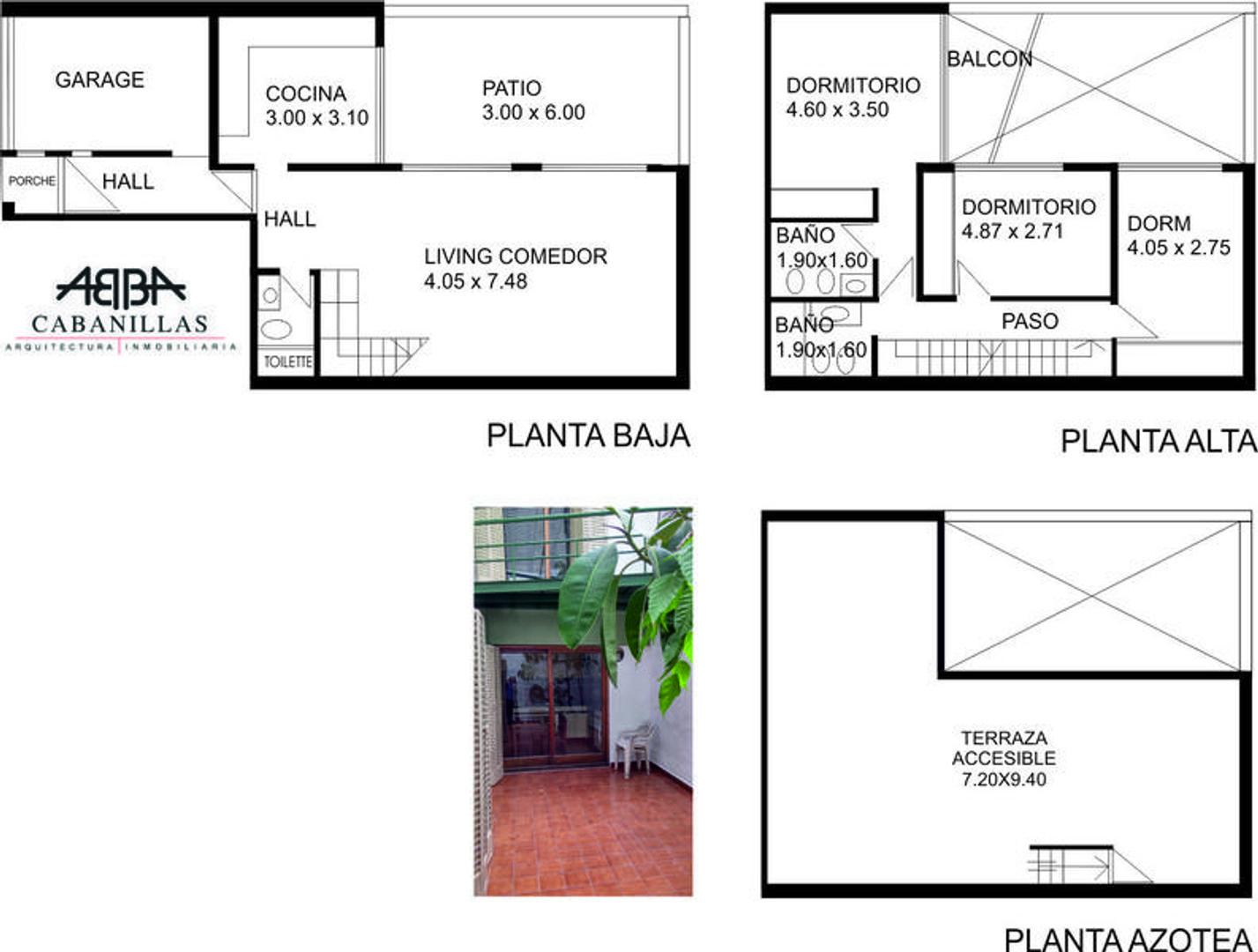 Casa en Alquiler en Palermo Hollywood - 4 ambientes