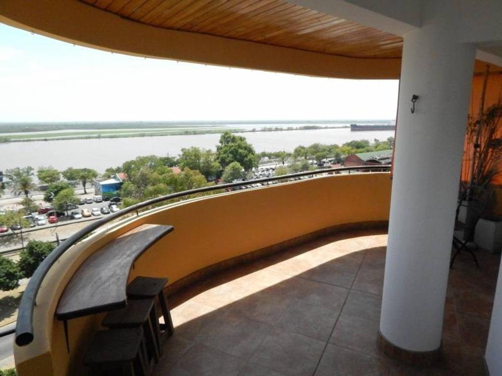 DEPARTAMENTO PISO EXCLUSIVO CON VISTA AL RIO COCHERA WHEELWRIGHT 1500