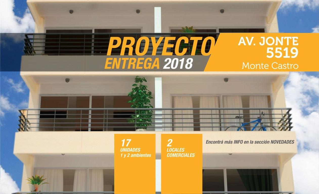 DEPARTAMENTO 2 AMB. C/BALCON AL FRENTE - ENTREGA 2018