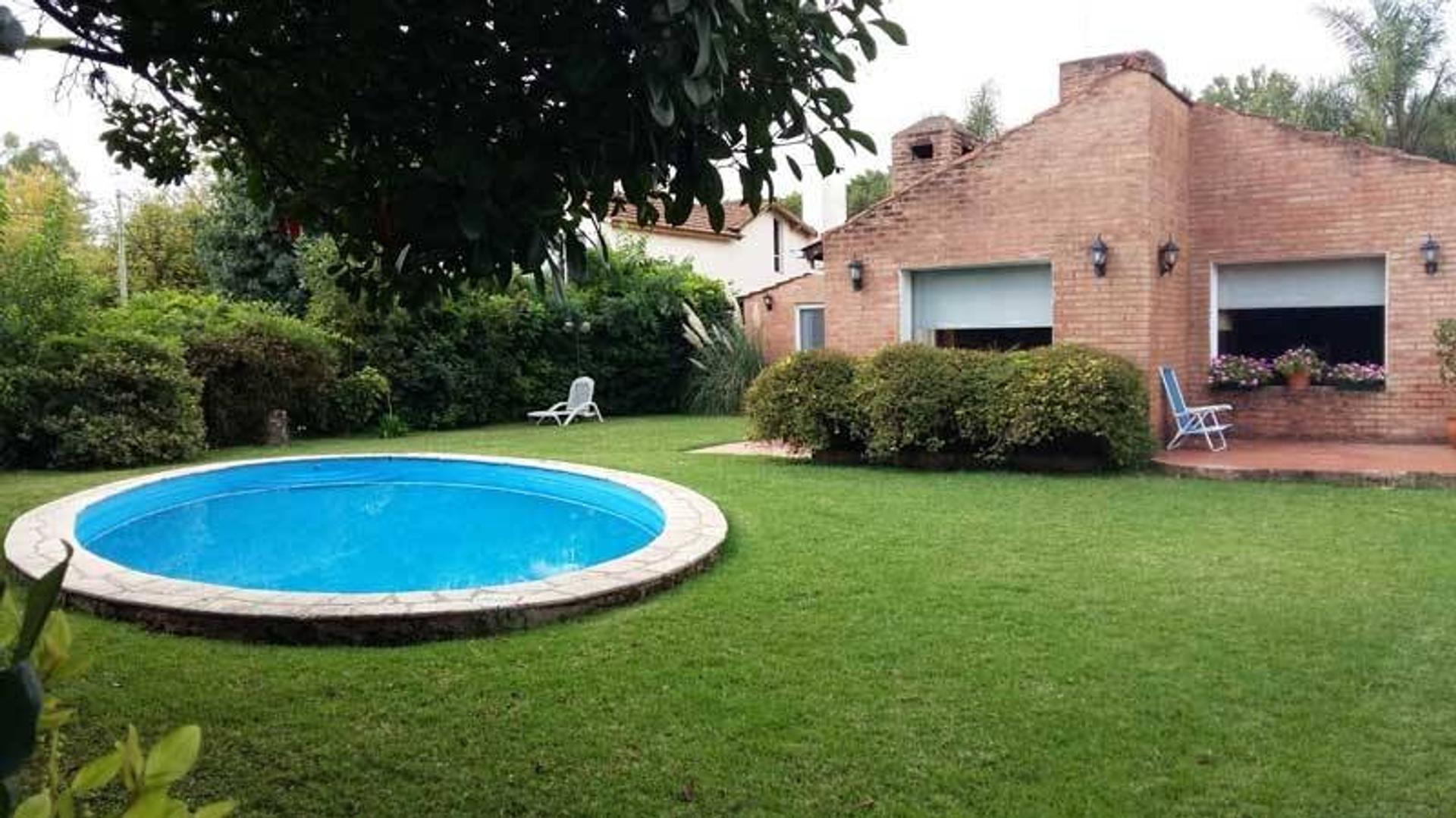 Alquiler de casa en Barrio Mapuche - Pilar