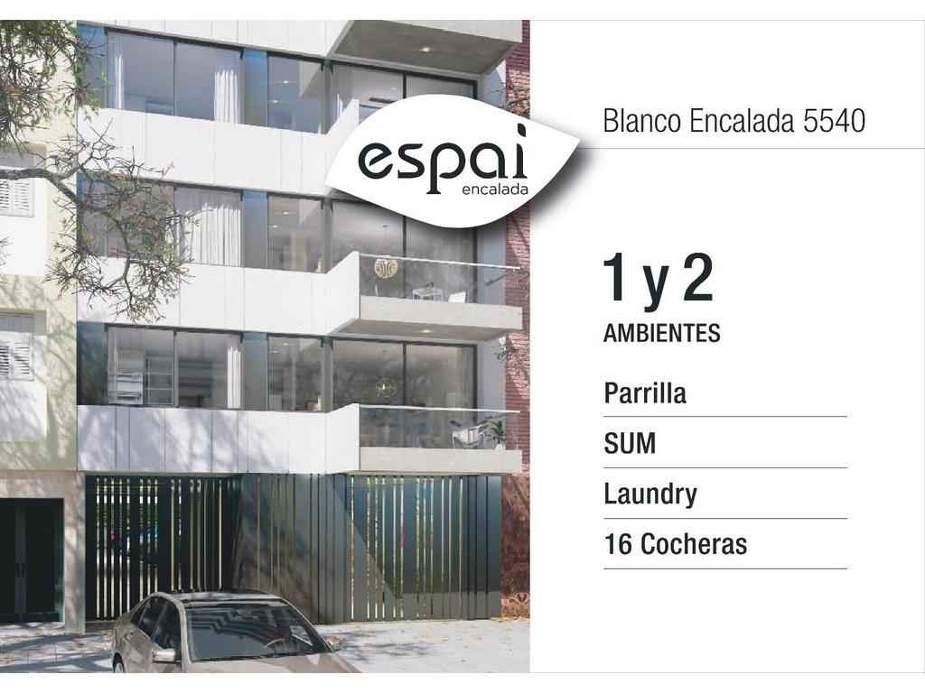1 / 2 amb c/ amenities cuadras Av. Triunvirato / subte desde U$ 2450xm2