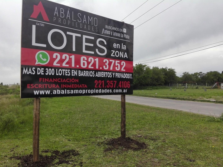 LOTES EN VENTA - 133 ENTRE 488 y 489 / ALTOS DE LACROZE - FINANCIACIÓN