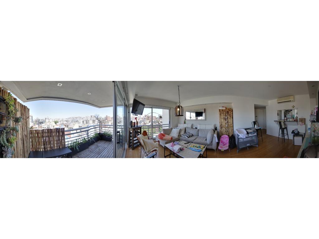 2 Ambientes de Categoría Vista Abierta en Torre con Cochera