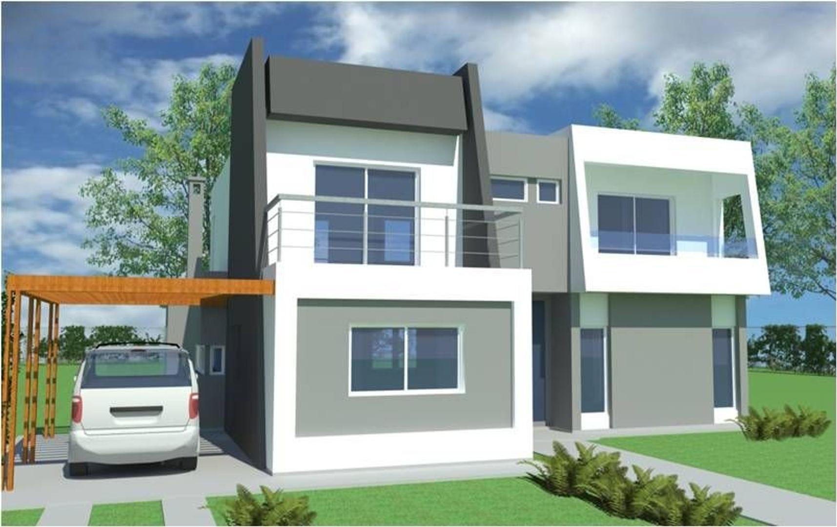 Tizado Pilar , Casa  en Venta 4 ambientes con pileta en Barrio San Matias, Esc - PIL3789_LP164953_1