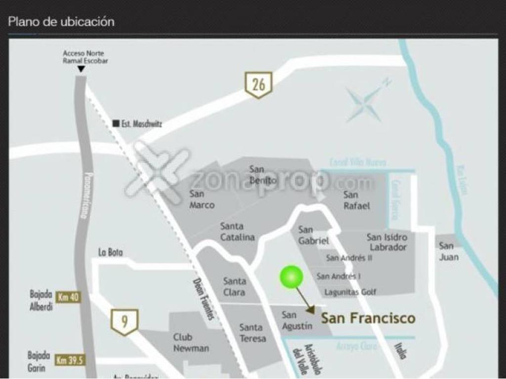 Barrio Cerrado San Francisco (Tigre) - Tigre - Bs.As. G.B.A. Zona Norte