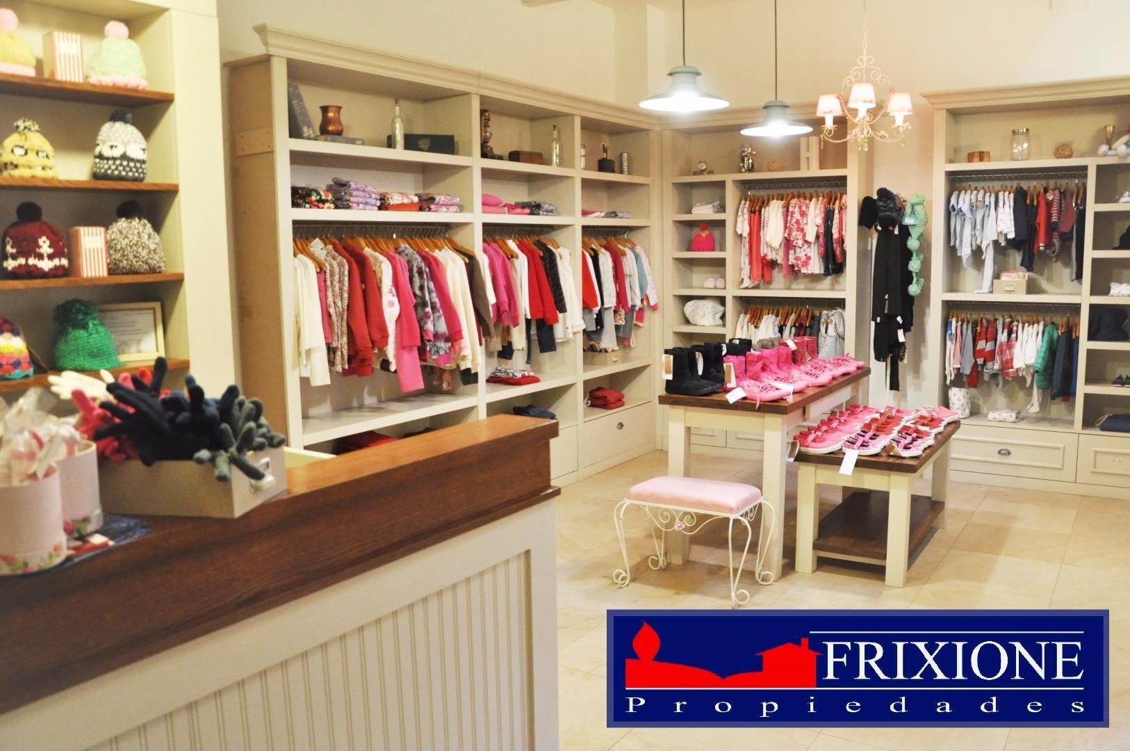 En Venta fondo de comercio ropa infantil Villa La Angostura