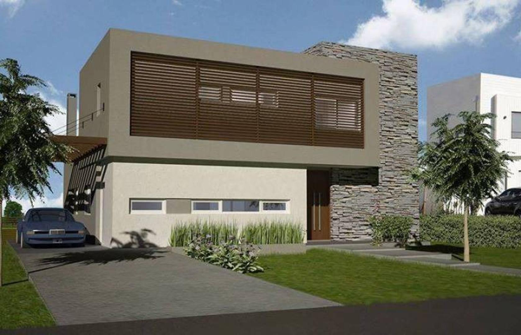Vistas-Puertos-Moderna Casa en Venta-Muy buen diseño