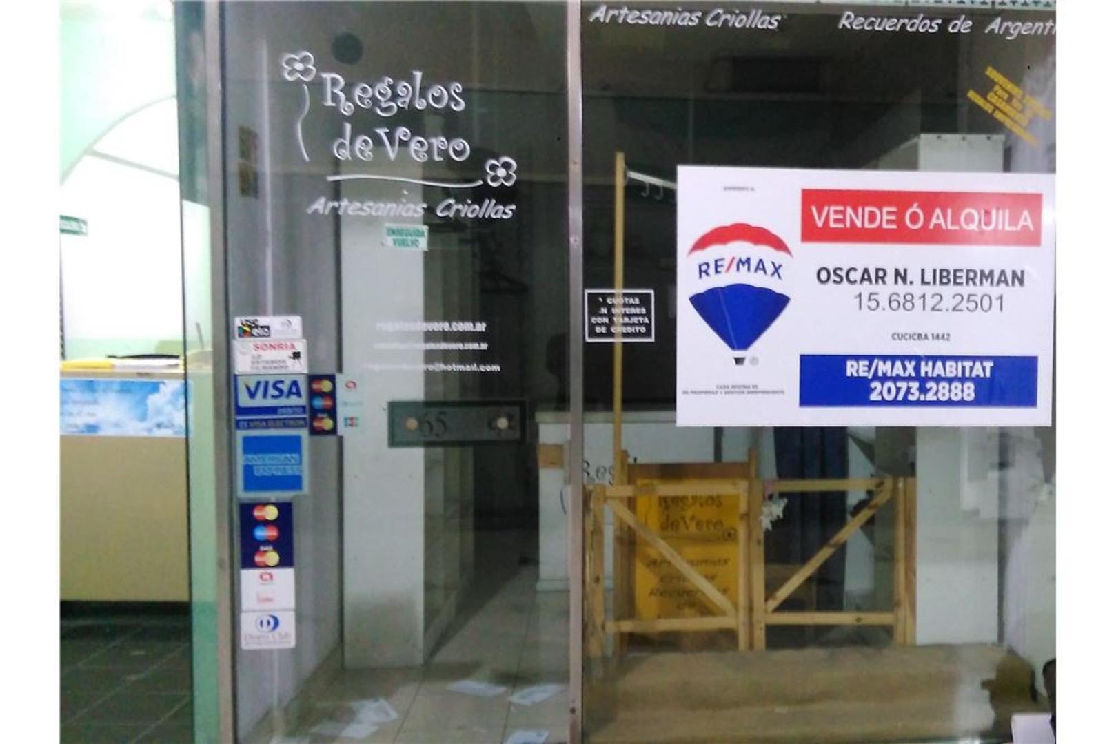 Venta Local Galeria Rustique (Retiro/Recoleta)