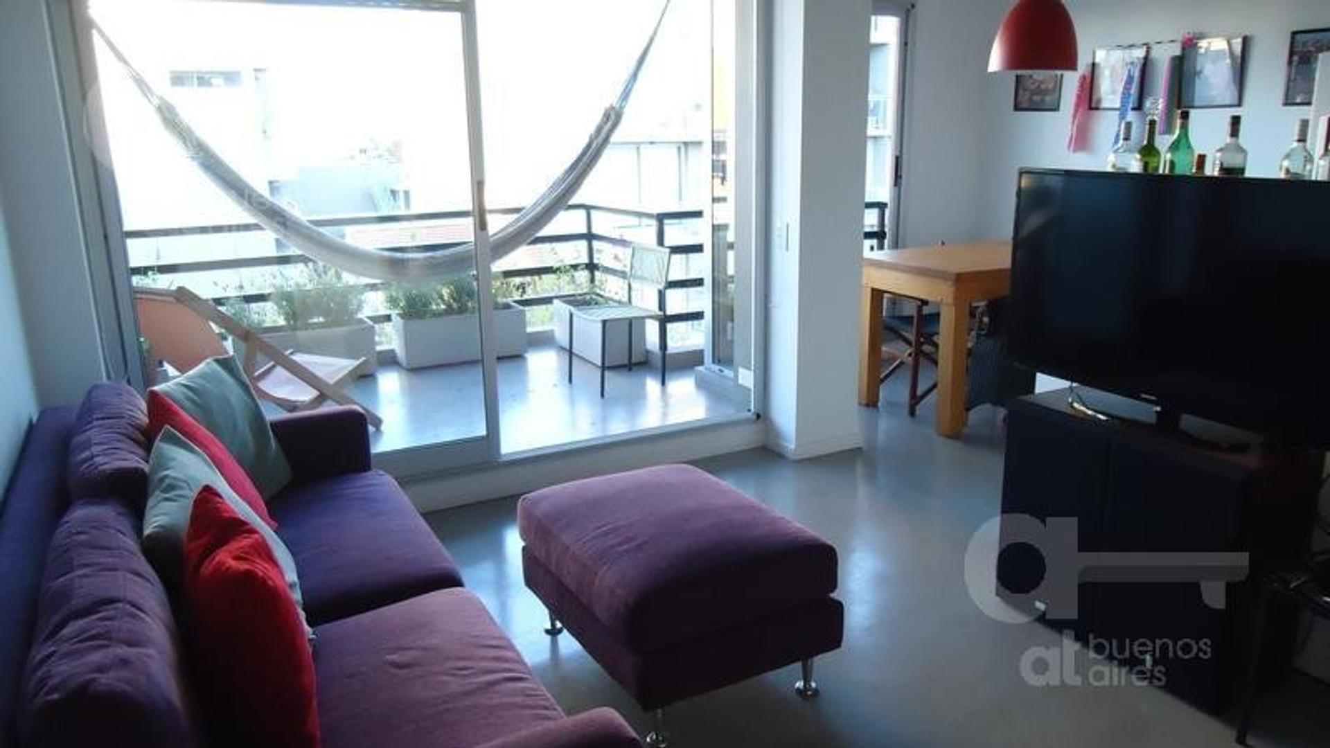 Villa Urquiza, Departamento 2 Ambientes con Balcón Terraza, Alquiler Temporario Sin Garantía!