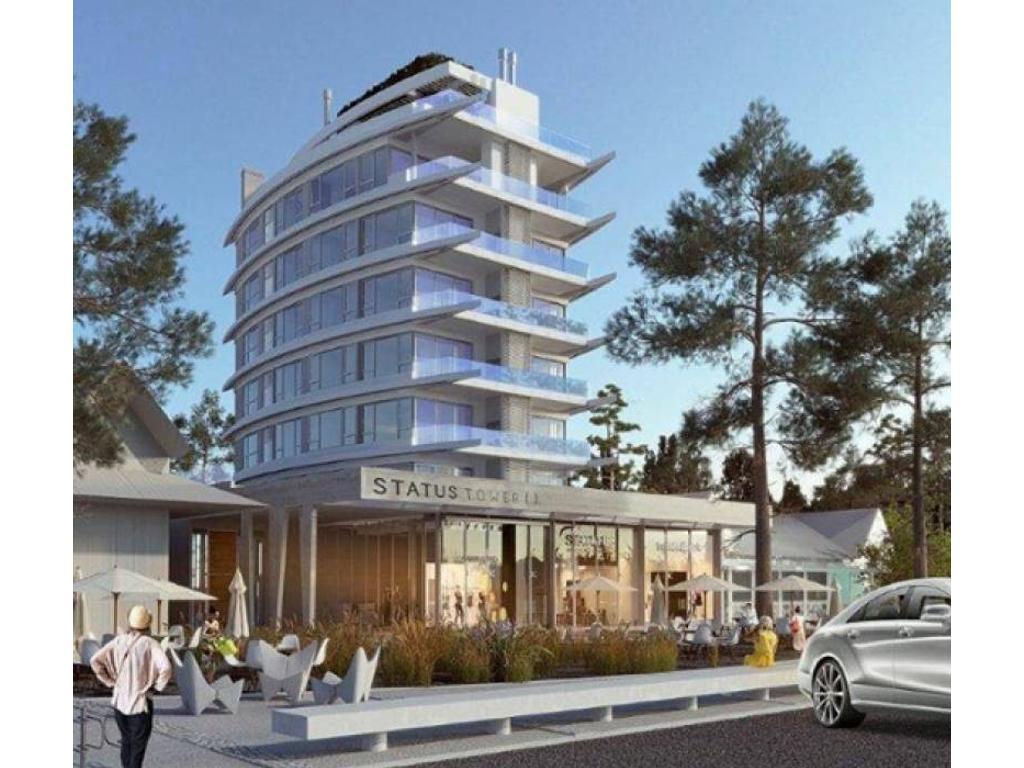 Departamento de pozo en venta en Pinamar - Status Tower -