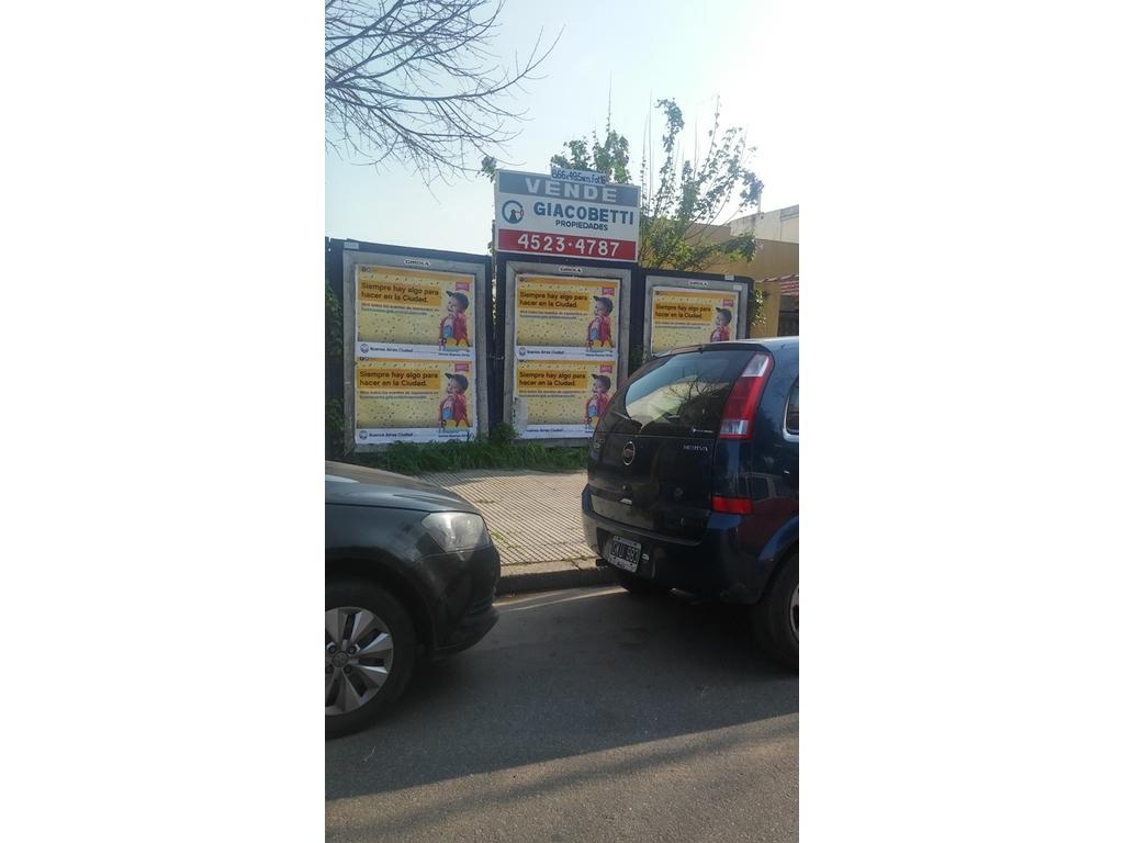 Vendo Lote FOT 1,6 en Villa Urquiza