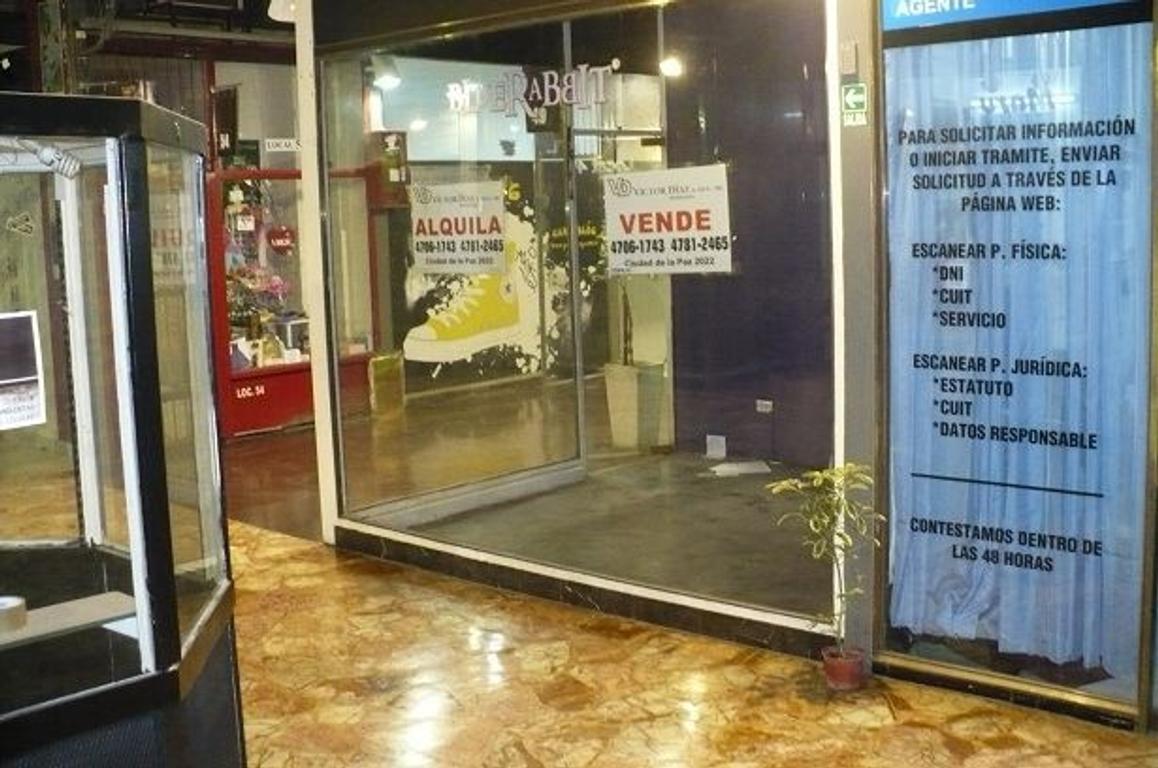 Venta de local en galería recamier-belgrano-capital
