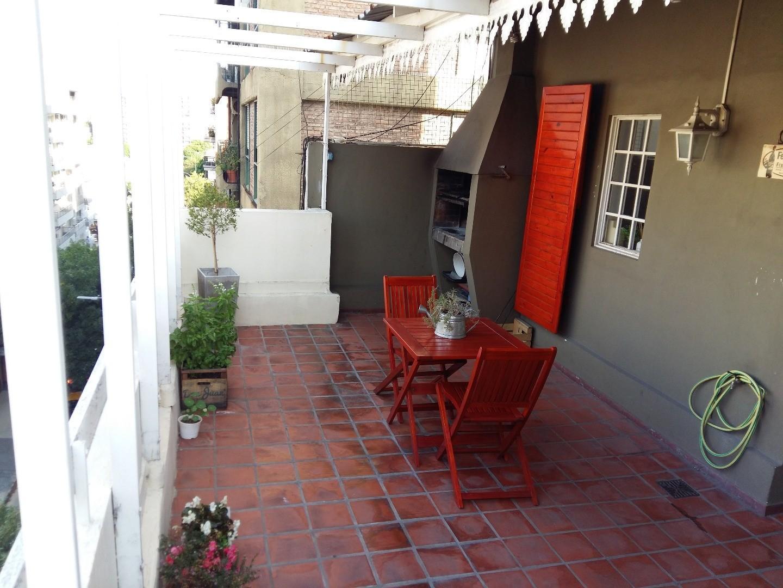 3 Amb Balcon Terraza con Parrilla Luminoso Excelente Ubicacion Caballito