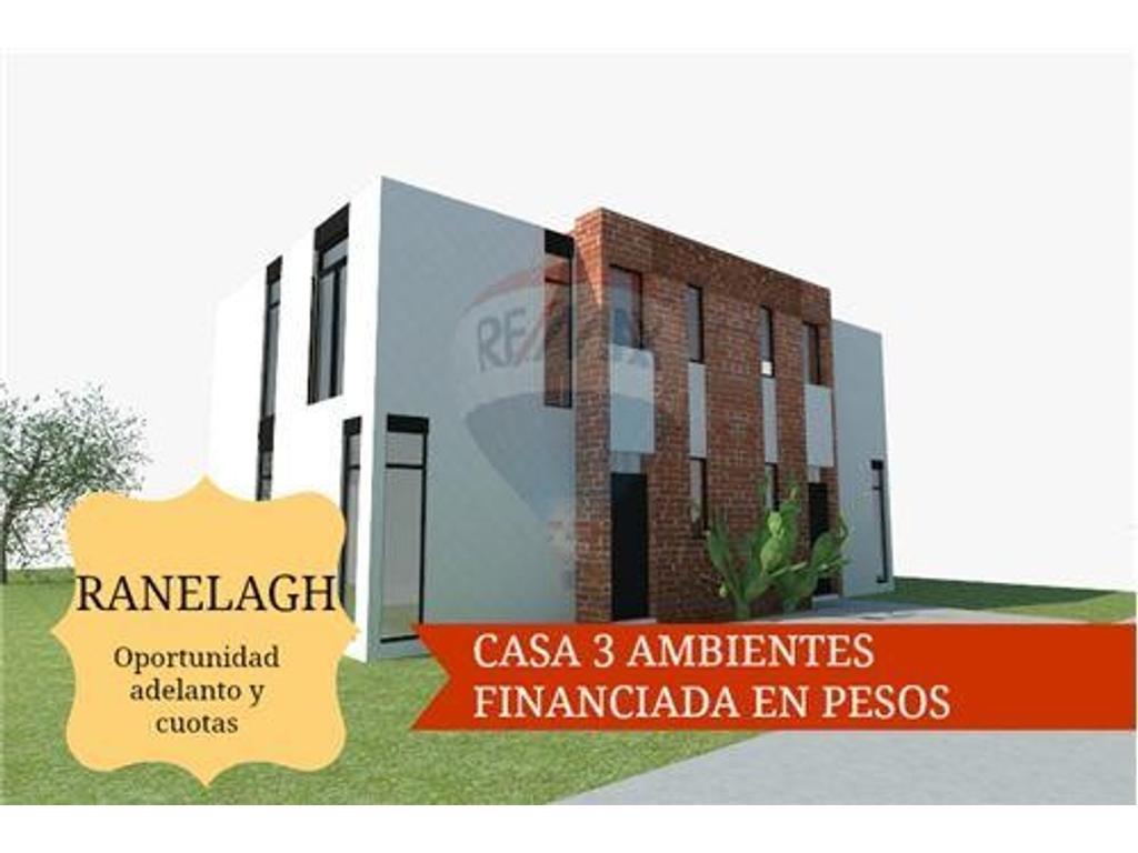 CASA 3 AMB CON PARQUE  - FINANCIADA EN RANELAGH