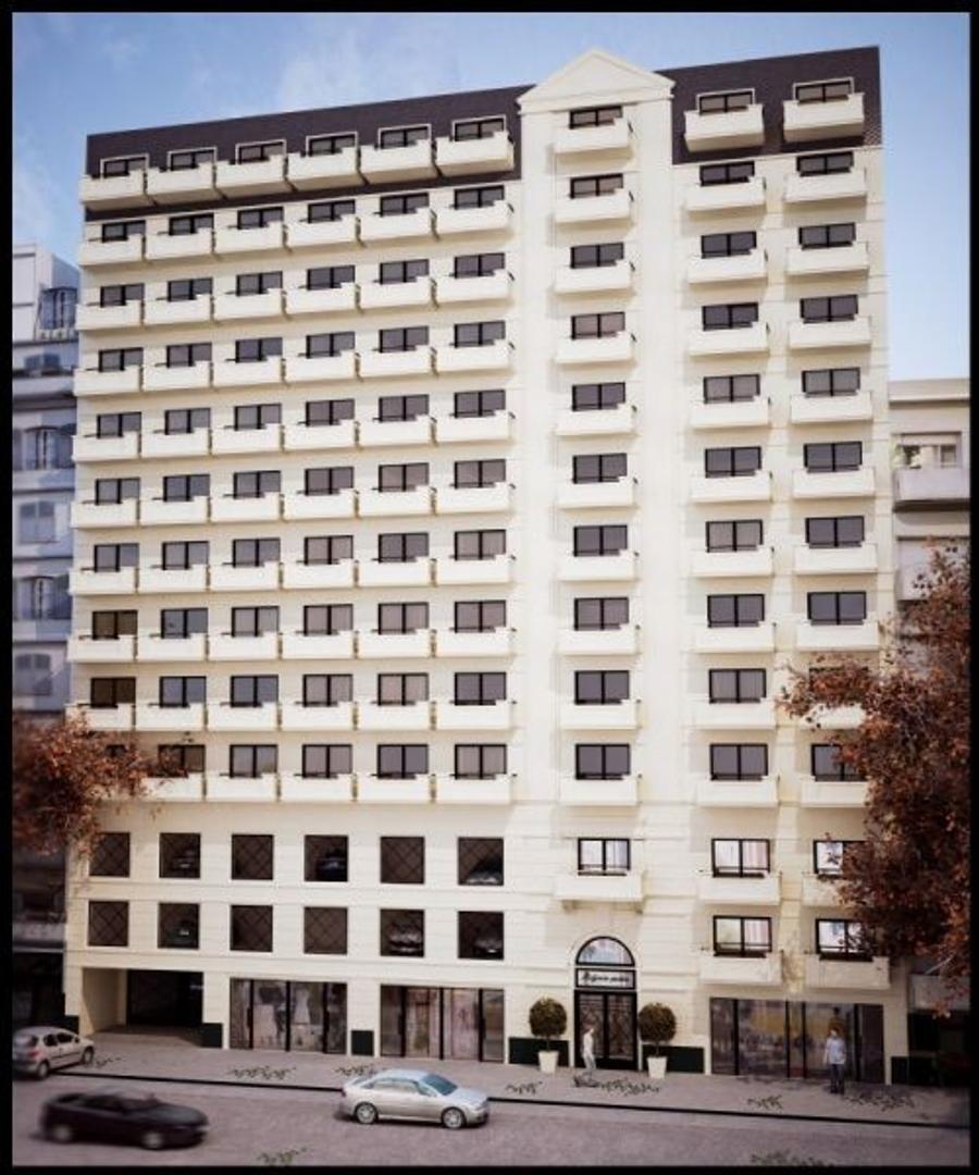 XINTEL(MPR-MPR-623) Departamento 1 Amb a estrenar  -  Edificio de categoria -