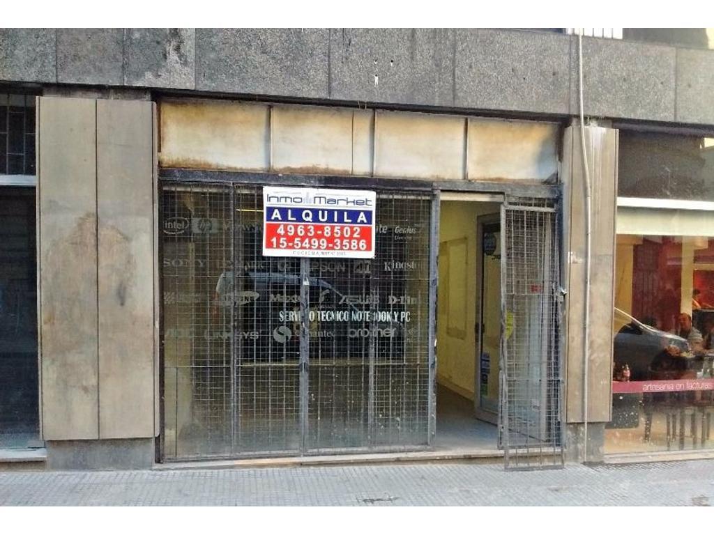 Local comercial sin Expensas  Frente vidriado - Aire Acondicionado !!!