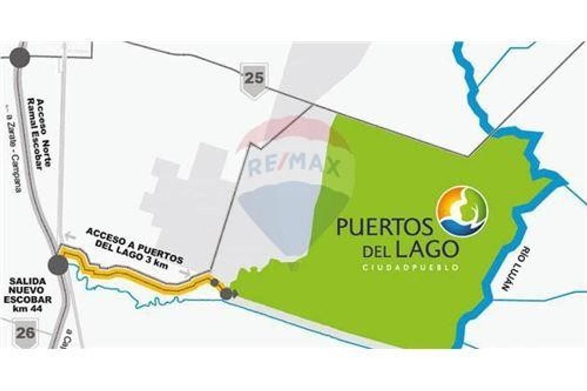 TERRENO PUERTOS DEL LAGO - Excelente ubicación