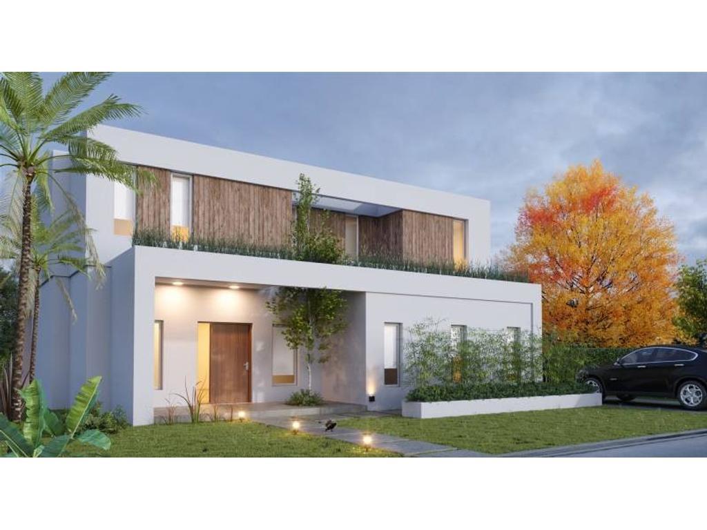Excelente casa en venta en lote central de Talar del Lago 2!