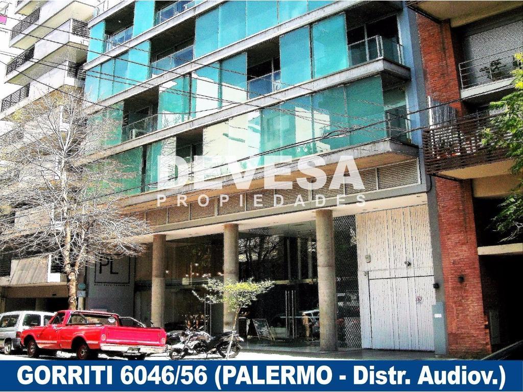 OFICINA 53 m2 - EDIF. DE OF. - Gorriti al 6000 (PALERMO, Distrito Audiovisual)