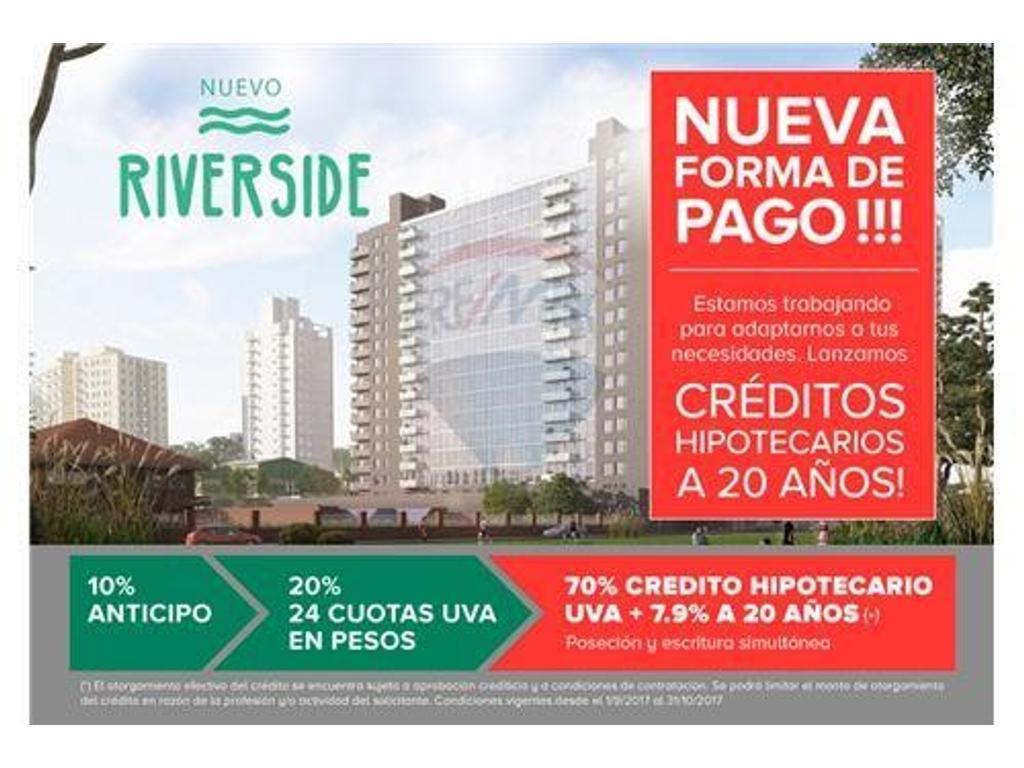 NUEVO RIVERSIDE CON NUEVO ESQUEMA DE PAGO FLEXIBLE